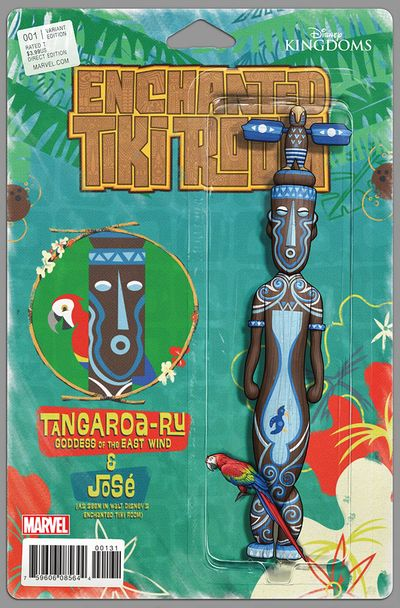 Enchanted Tiki Room #1 (of 5) (Christopher Action Figure Variant Cover Edition) AUG160953D