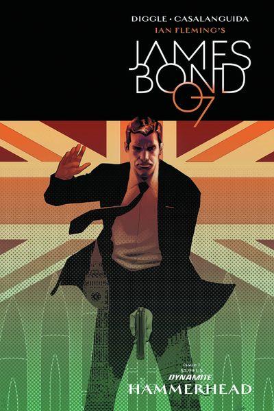 James Bond Hammerhead #1 (of 6) (Cover C - Salas)