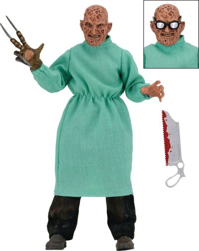 Nightmare on Elm Street Surgeon Freddy 8in Clothed Action Figure AUG168695E