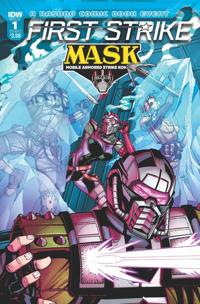 Mask First Strike #1 (Cover A - Johnson) AUG170457E