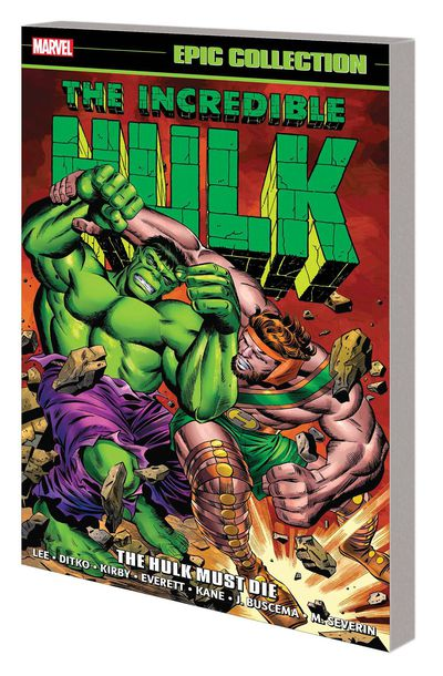 Incredible Hulk Epic Collection Hulk Must Die TPB AUG171040D