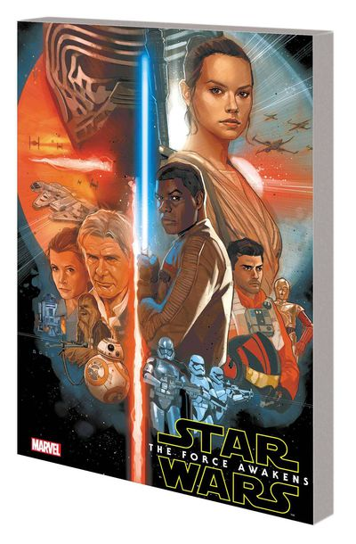 Star Wars Force Awakens Adapatation TPB AUG171048D