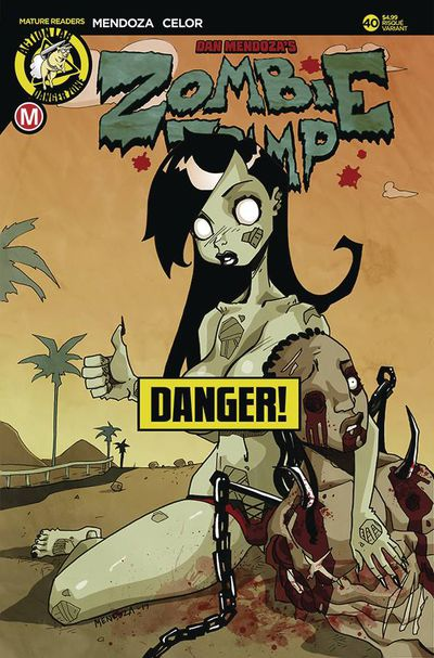 Zombie Tramp Ongoing #40 (Cover B - Mendoza Risque)