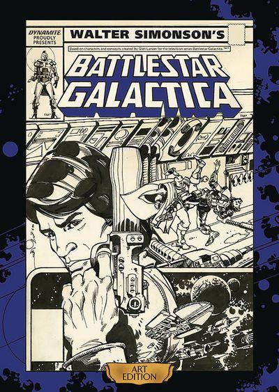 Walter Simonson Battlestar Galactica Art Ed HC