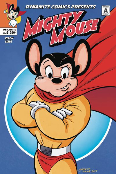 Mighty Mouse #5 (of 5) (Cover B - Marques)