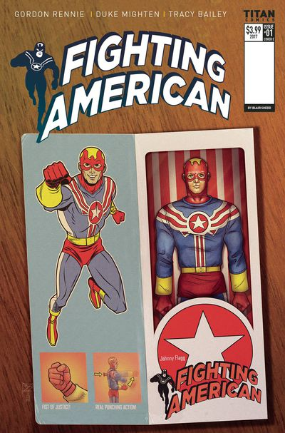 Fighting American #1 (Cover E - Action Figure Variant) AUG171982F