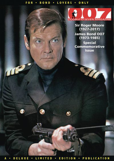 007 Magazine Presents Sir Roger Moore Special AUG172407H