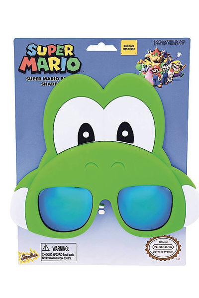 Super Mario Bros Yoshi Sunstaches Sunglasses AUG173142U