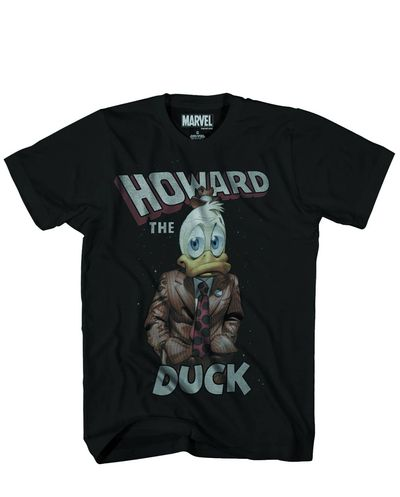 Howard the Duck Space Duck Previews Exclusive Blk T-Shirt SM DEC151883U