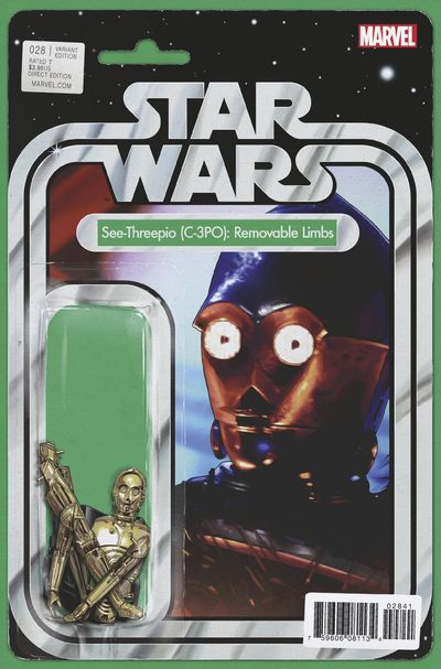 Star Wars #28 (Christopher Action Figure Variant Cover Edition) DEC161067D
