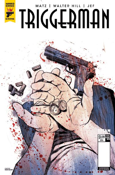 Hard Case Crime Trigger Man #5 (of 5) (Cover B - Chater)