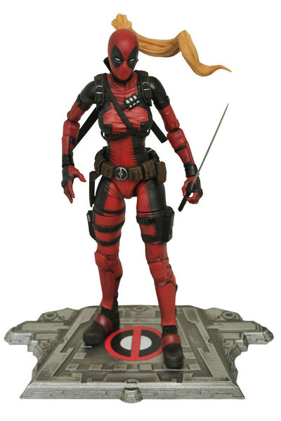 Marvel Select Lady Deadpool Action Figure DEC162578I