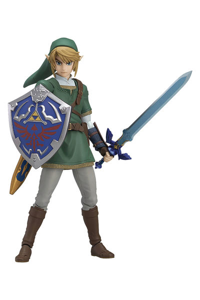 Legend of Zelda Twilight Princess Link Figma Action Figure DEC163005I