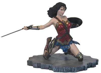 JLA Movie Gallery Wonder Woman PVC Figure DEC172251