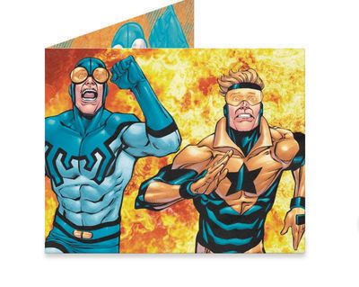 DC Heroes: Booster Gold & Blue Beetle Previews Exclusive Mighty Wallet FEB168624J