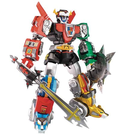 Ultimate Voltron Ex Action Figure Set FEB168810J