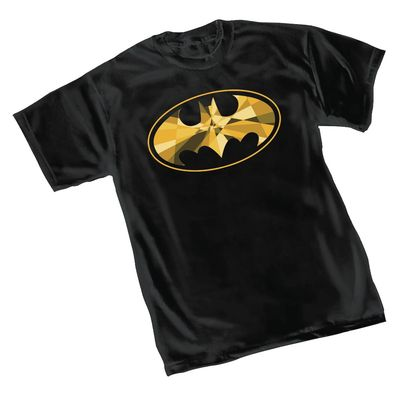 Image of Batman Cube Symbol T-Shirt MED
