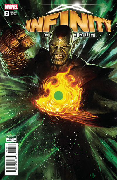 Infinity Countdown #2 (of 5) (Super Skrull Holds Infinity Variant)