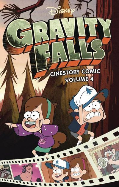 Disney Gravity Falls Cinestory TPB Vol 04 FEB181615