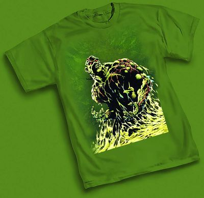 Image of Classic Swamp Thing By Wrightson T-Shirt MED