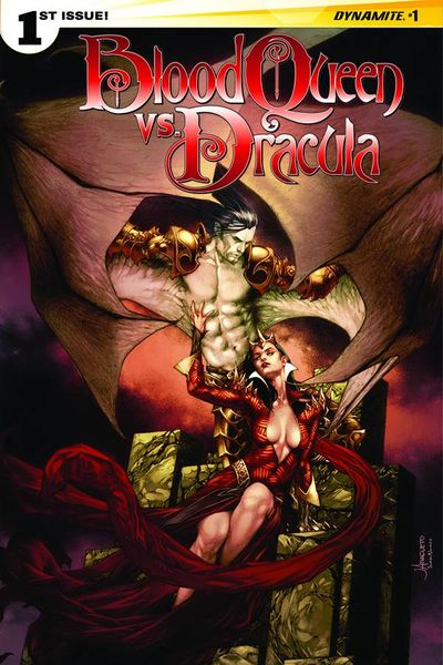 Blood Queen vs. Dracula #1 (of 4) (Cover A - Anacleto)