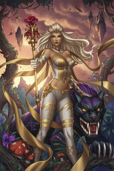 Grimm Fairy Tales White Queen #2 (Cover B - Rich)