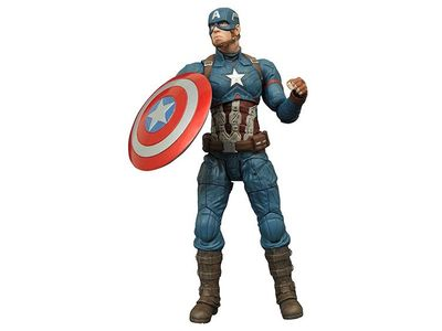 Marvel Select Captain America 3 Captain America Action Figure JAN162253I