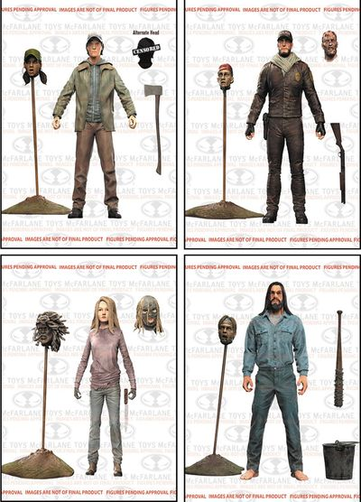 Walking Dead Comic Series 5 Action Figure Assortment JAN168329Z