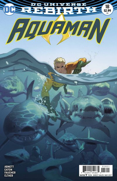 Aquaman #18 (Middleton Variant Cover Edition)