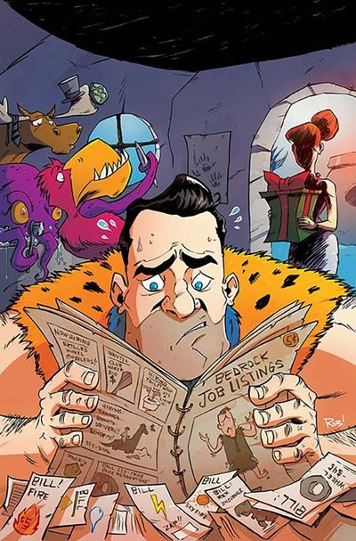 Flintstones #9 (Guillory Variant Cover Edition)