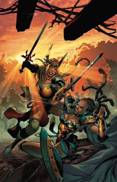 Odyssey Of The Amazons #3 (of 6)