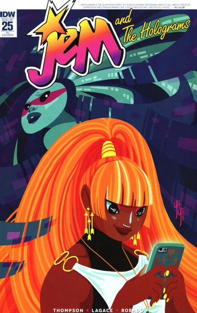 Jem & The Holograms #25 (Retailer 10 Copy Incentive Variant Cover Edition)