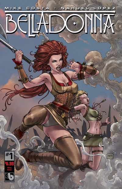 Belladonna #1 Viking Vixens Cover