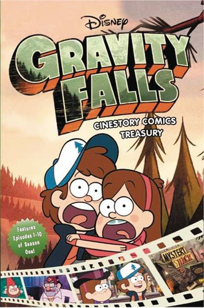 Disney Gravity Falls Treasury TPB JAN171842F
