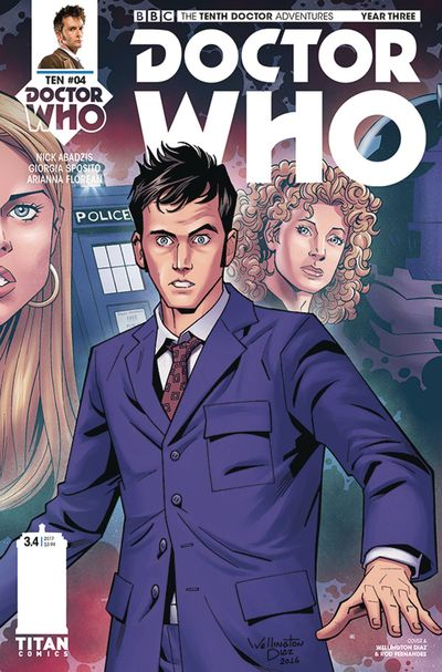 Doctor Who 10th Year 3 #4 (Cover A - Alves)