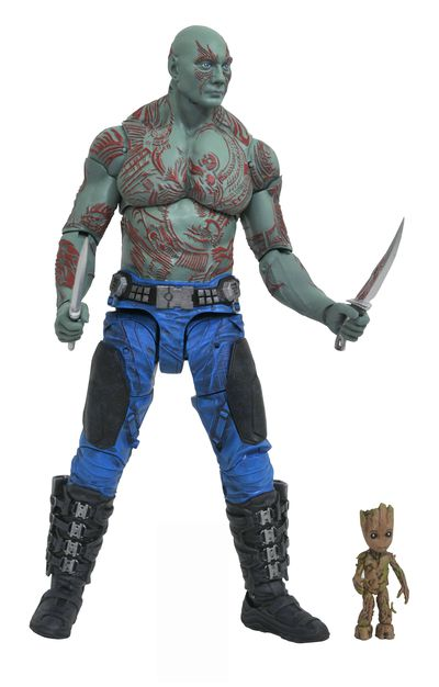 Marvel Select Guardians of the Galaxy 2 Drax & Baby Groot Action Figure JAN172662I