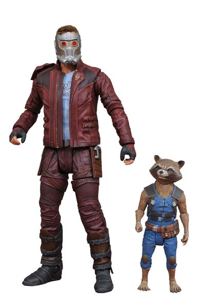 Marvel Select Guardians of the Galaxy 2 Star-lord & Rocket Action Figure JAN172663I