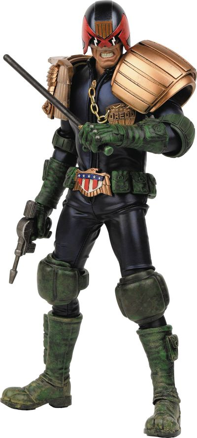 2000 AD X Threea Apocalypse War Judge Dredd 1/6 Scale Figure JAN178087J