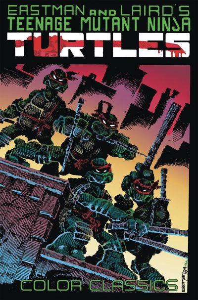Teenage Mutant Ninja Turtles Color Classics TPB Vol. 1 Cover