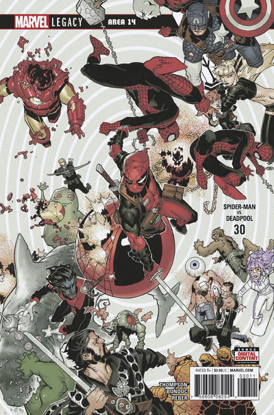 Spider-Man Deadpool #30 JAN180956