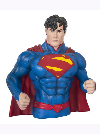 Superman New 52 Previews Exclusive Bust Bank JUL128243U