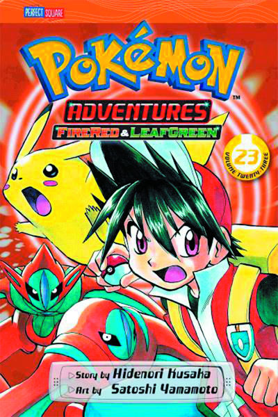 Pokemon Adventures GN Vol. 24 Fire Red Leaf Green JUL141382E