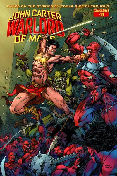 John Carter Warlord #11 (Cover B - Malsuni)