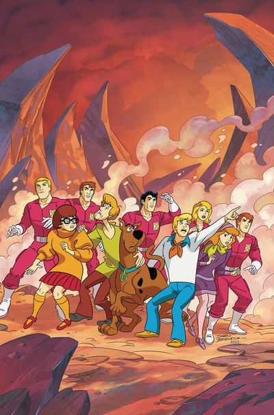 Scooby Doo Team Up #30 JUL170438D