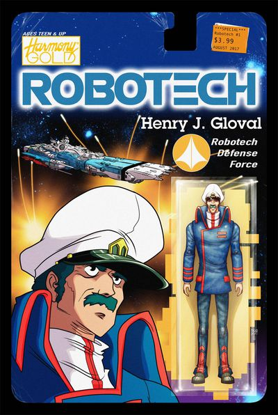 Robotech #3 (Cover C - Action Figure Variant) JUL172180F