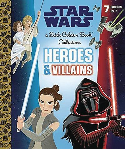 Star Wars Little Golden Book Collection Heroes And Villains JUL172479F
