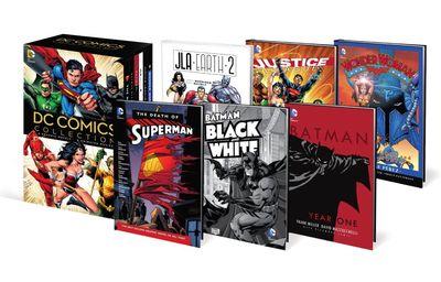 DC Comics Book & DVD Blu Ray Slipcase Set JUN150284J