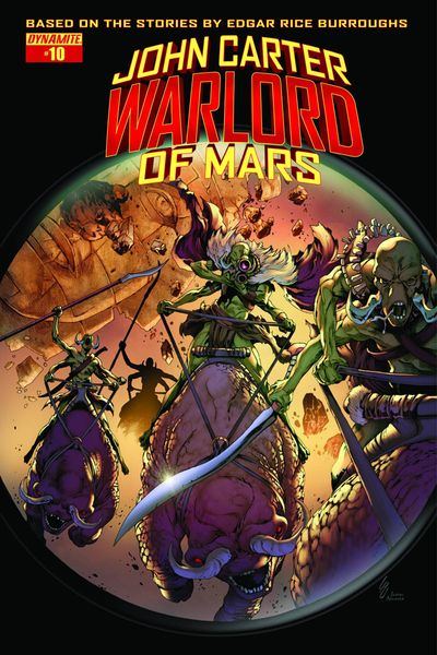 John Carter Warlord #10 (Cover D - Exc Subscription Cover)