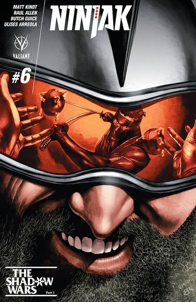 Ninjak #6 (Cover A - Suayan)