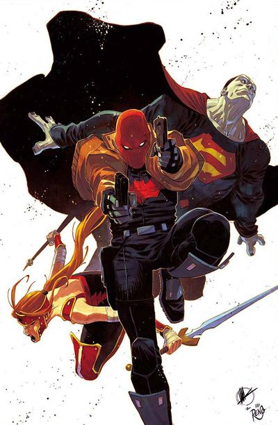 Red Hood and the Outlaws #1 (Scalera Variant Cover Edition)